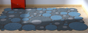 Bubbles_Blue_Rug